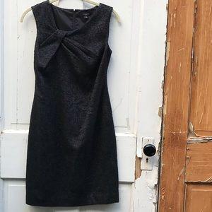Ann Taylor Black wool blend dress Size  00